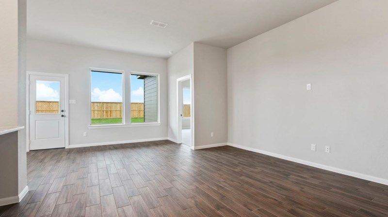 Interior:The Cloverstone - Family Room