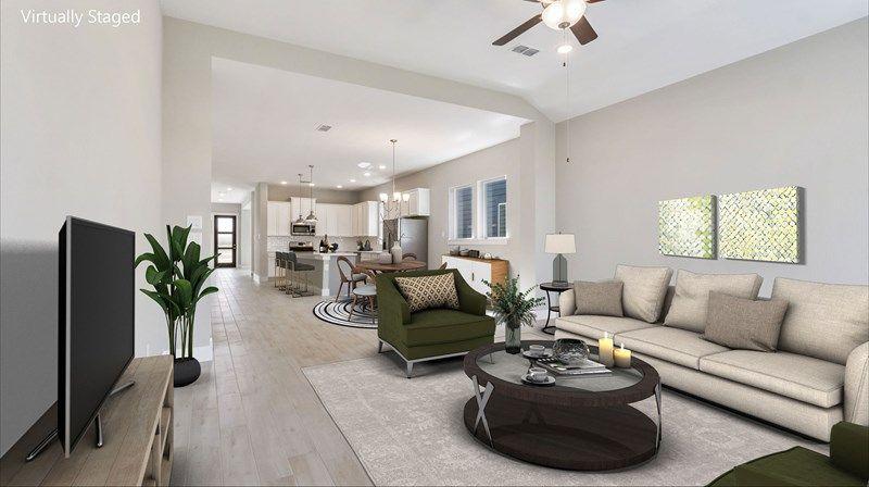 Interior:The Montclaire - Living Room