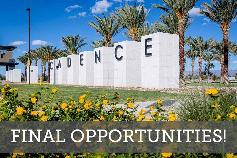 Final Opportunities in Cadence at Gateway - The Commons