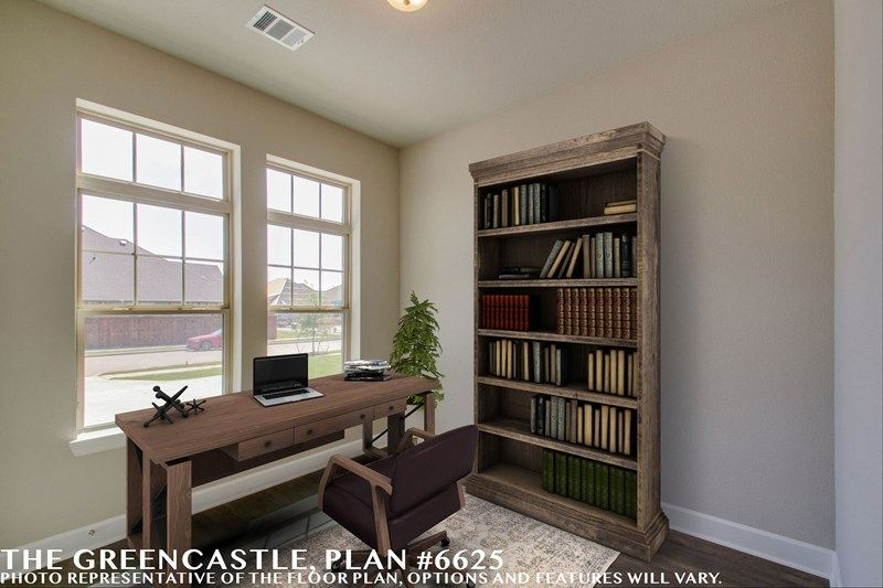 Interior:The Greencastle - Study