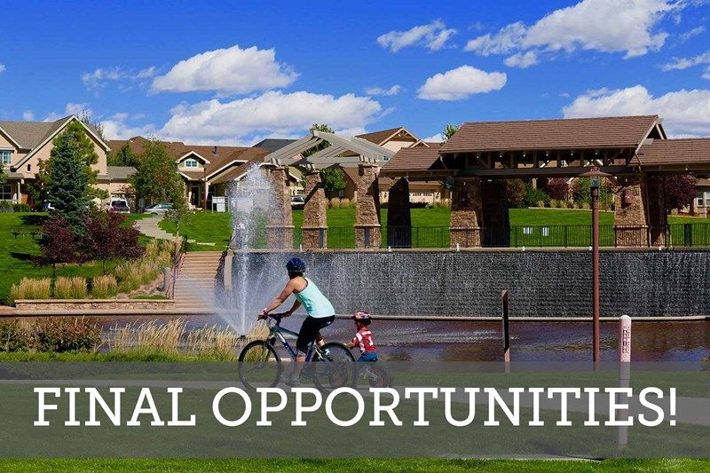 Enclave at Wolf Ranch - Final Opportunities