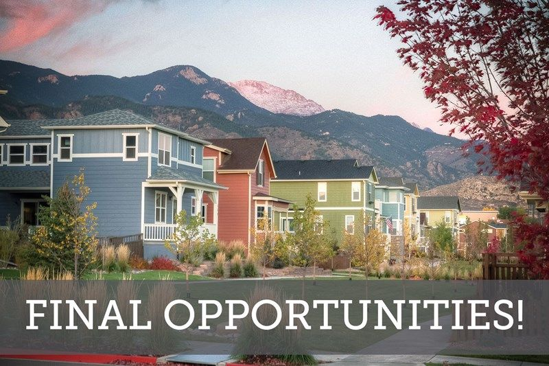 Final Opportunities in Gold Hill Mesa