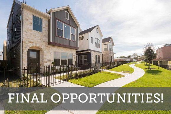 Ashford Manor - Final Opportunities