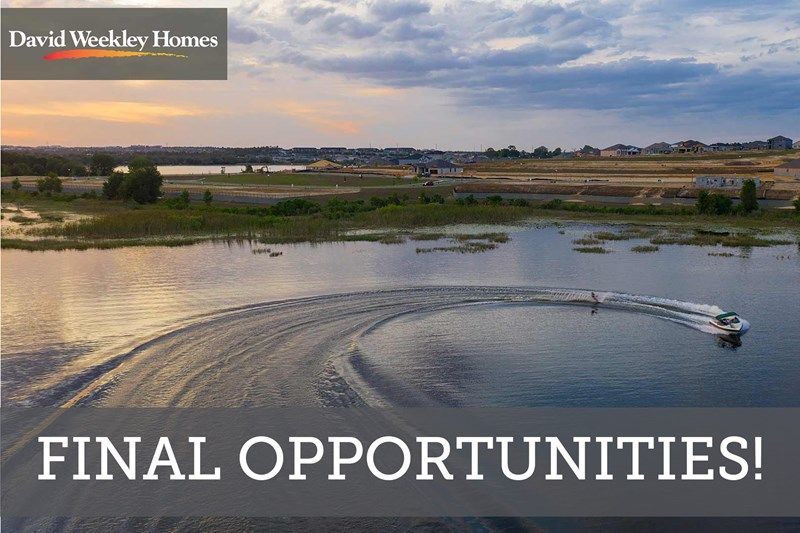 Final Opportunities in John's Lake Landing - Cottage Series