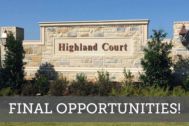 Highland Court - Final Opportunities
