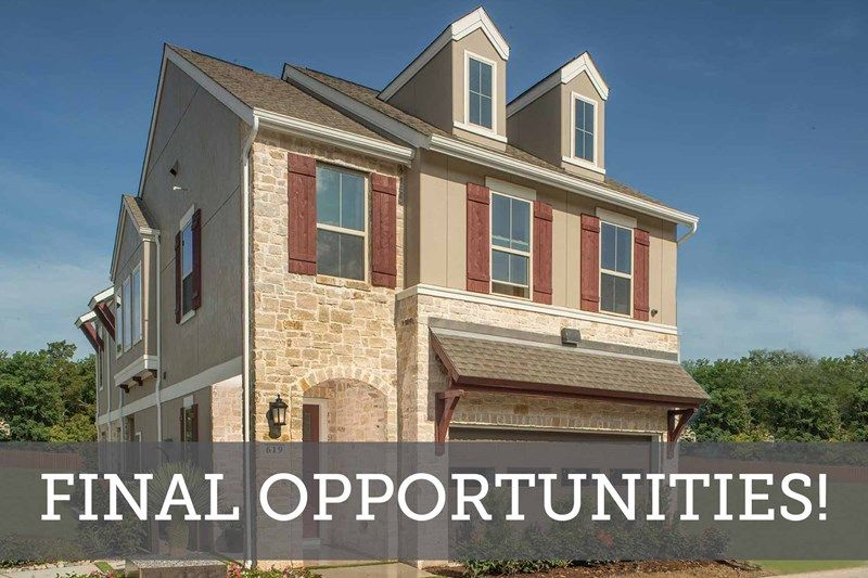 The Reserve at Kessler Heights - Final Opportunities