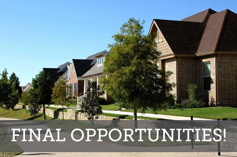 HomeTown Garden - Final Opportunities