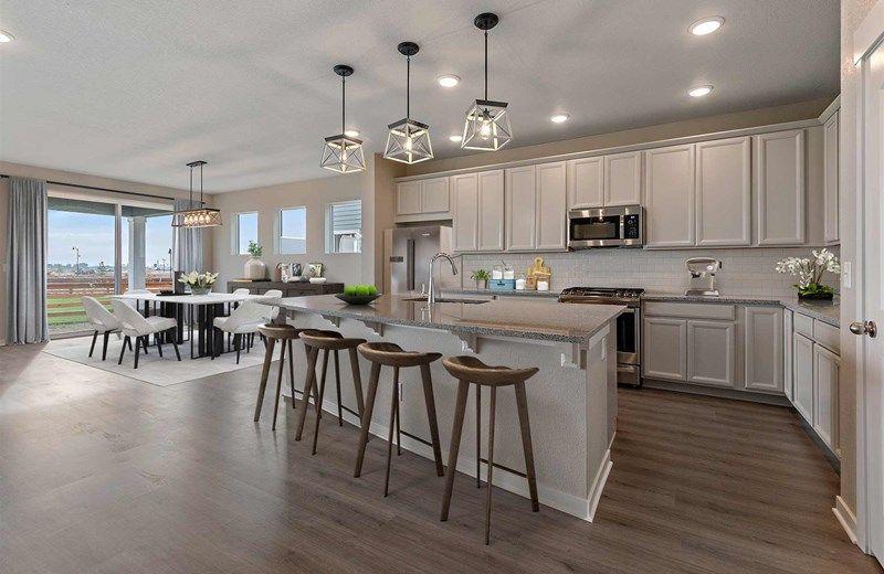 Interior:The Warren - Kitchen