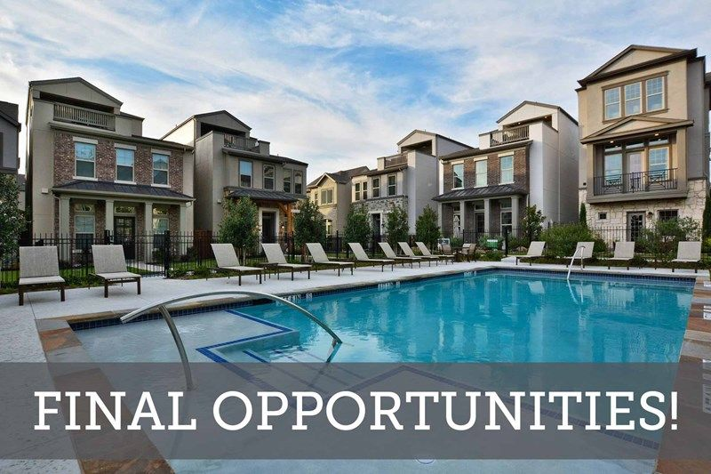 Oak Park Gardens - Final Opportunities