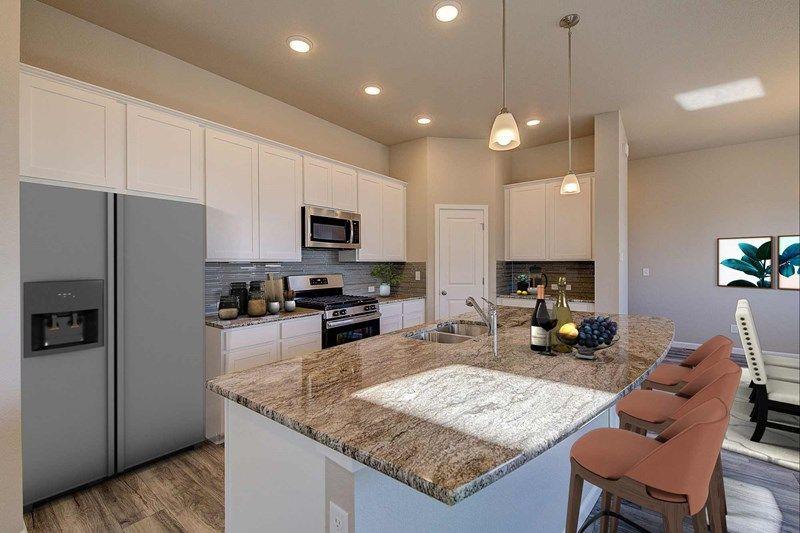 Interior:The Graham Peak - Kitchen