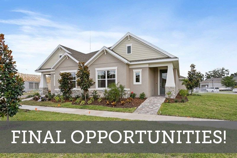 Encore at FishHawk Ranch Villa Homes - Final Opportunities