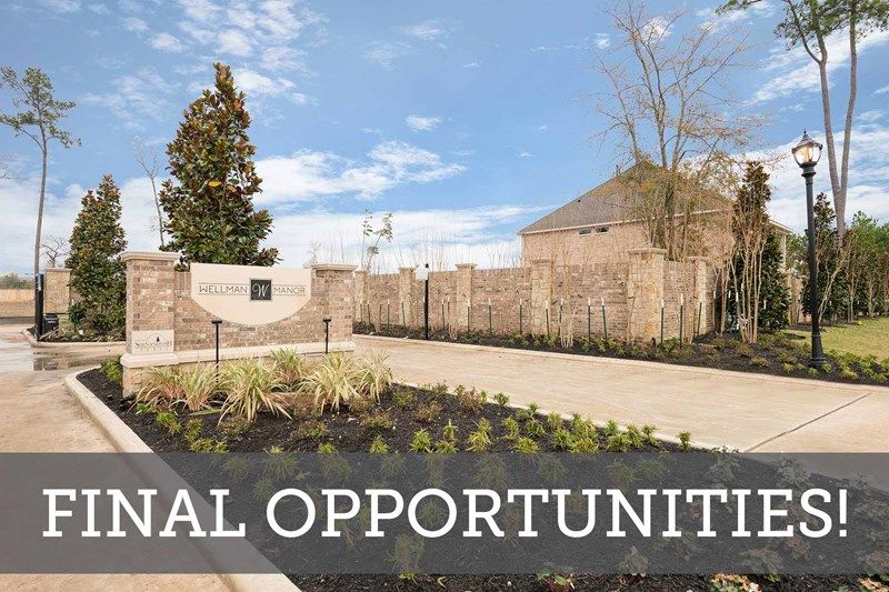 Final Opportunities in Wellman Manor