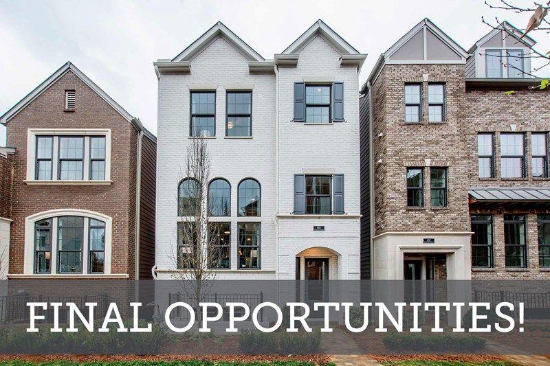 Final Opportunities in Broadview Place Terrace