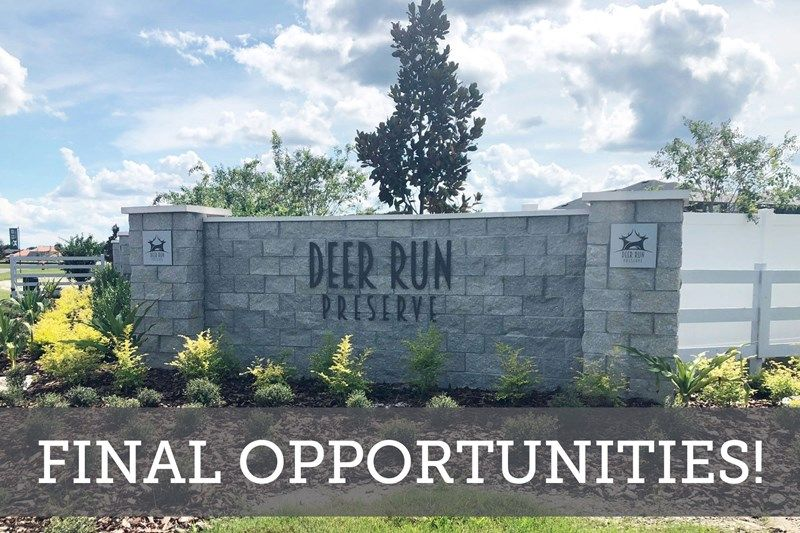 Deer Run Preserve - Final Opportunities