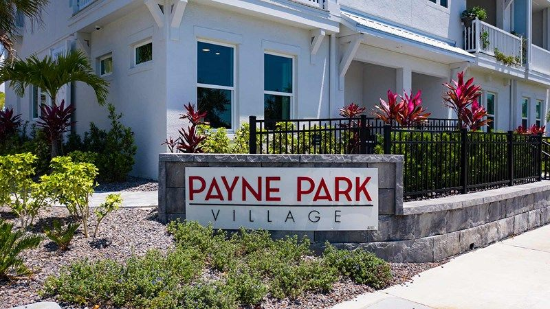 Payne Park Village - Entrance