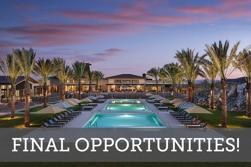 Mountainside at Victory - Villas 40' - Final Opportunities