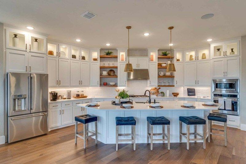 Interior:The Bluffstone - Kitchen