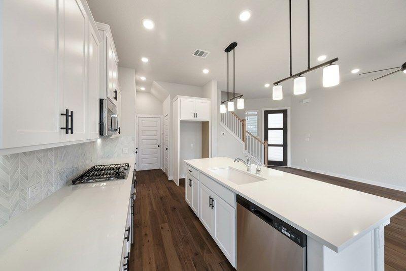 Interior:The Northaven Terrace - Kitchen