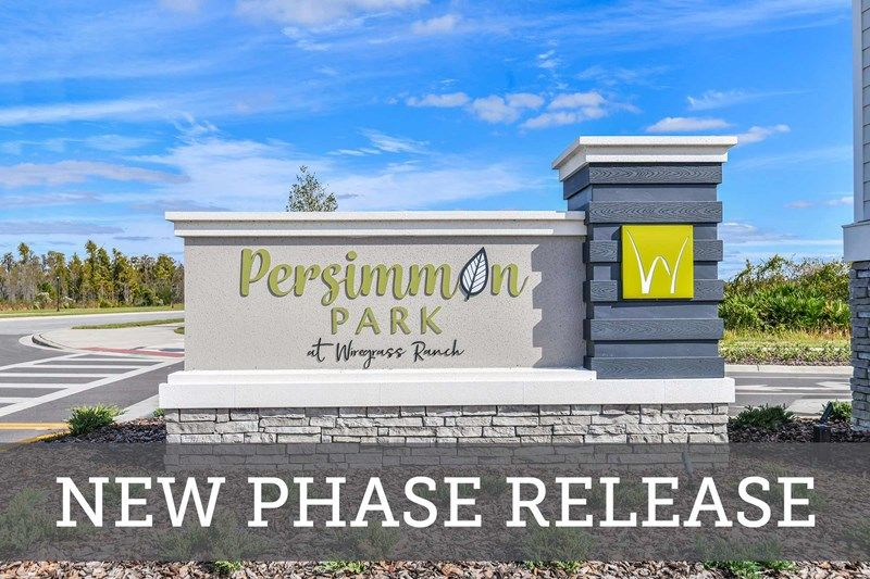 Persimmon Park - New Phase Release Coming Soon