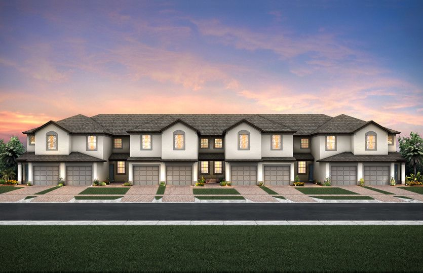 Egret:8-Unit Single-Level Condos