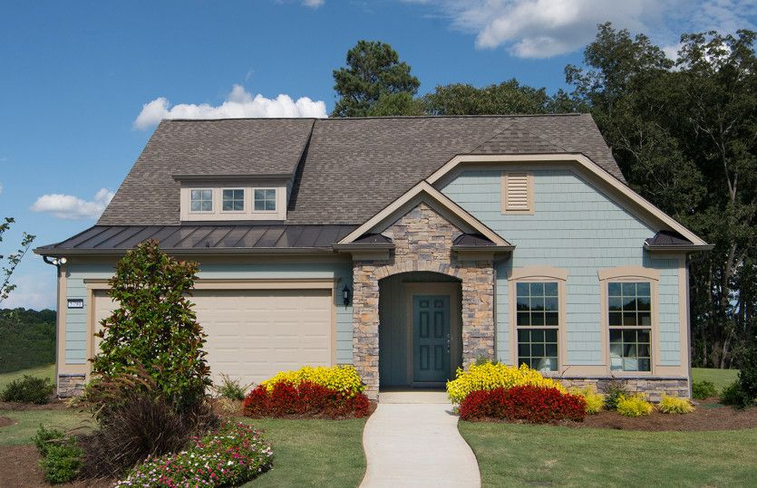 Exterior:Abbeyville Model Home