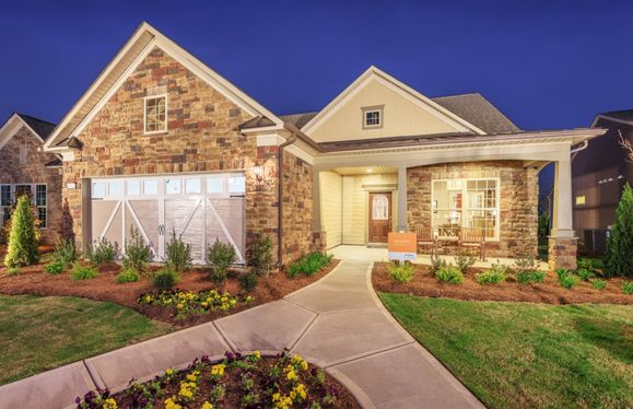 Martin Ray:Martin Ray Exterior 8 features stone, shakes and covered front porch