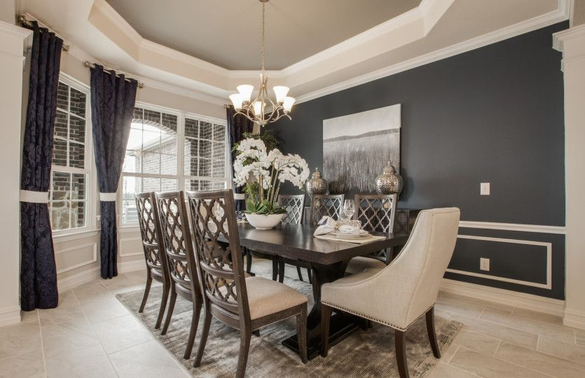 Napa Valley:Formal dining room adds drama and sophistication to your entryway
