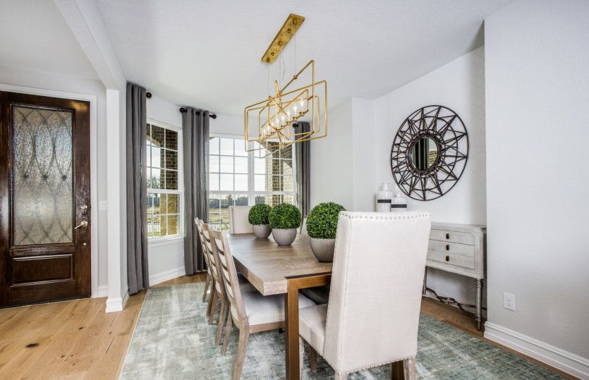 Sonoma Cove:Formal dining room adds drama and sophistication to your entryway