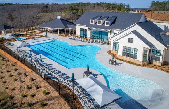Pool Area at The Clubhouse