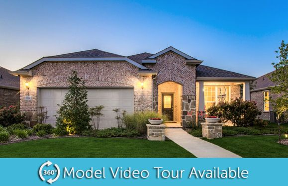 Martin Ray:Martin Ray with Exterior E Model Home