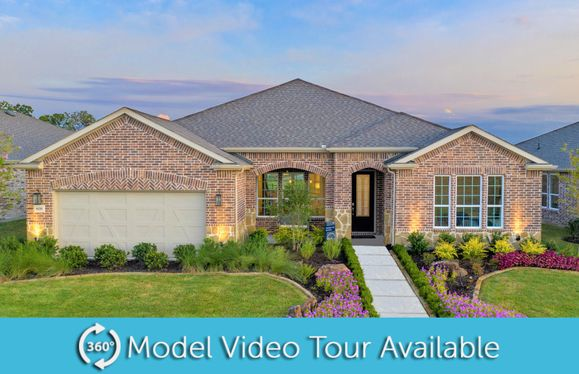 Tangerly Oak:Tangerly Oak Model Home, Exterior B