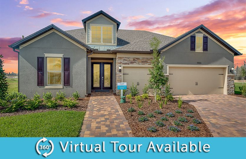 Stonewater Grand:Model Home Exterior