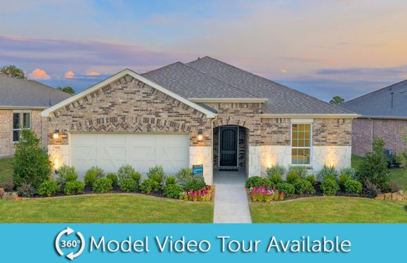 Summerwood:Summerwood Model, Exterior C with stone accents