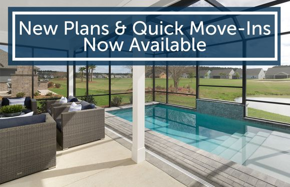 New Plans and Quick Move-Ins