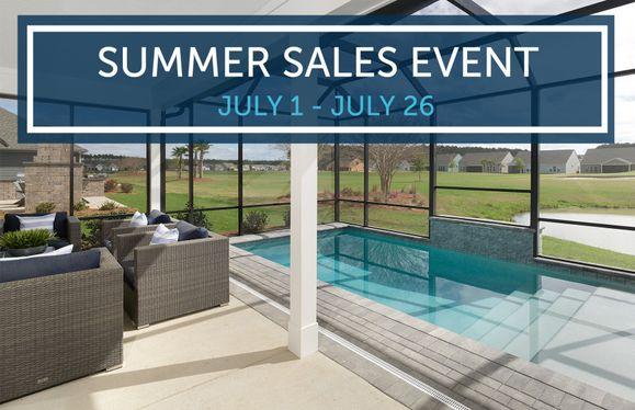 Summer Sales Event!