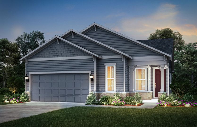 Meadow:Home Exterior CR202 (Also Available with Brick as CR201)