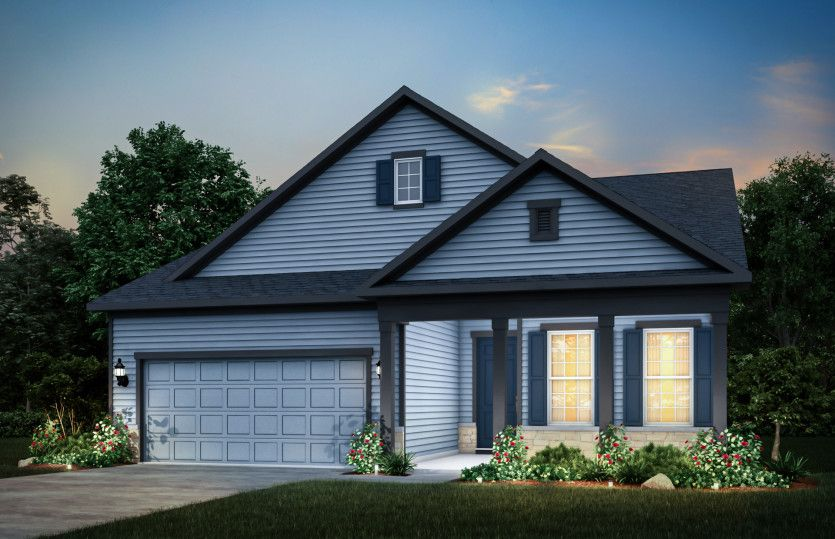 Mystique:Home Exterior HR202 (Also Available with Brick as HR201)