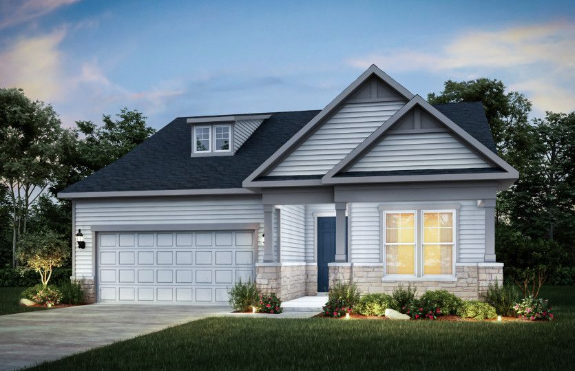 Prosperity:Home Exterior LC202 (Also Available with Brick as LC201)