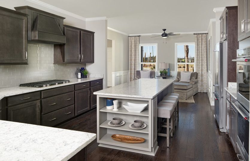 Tangerly Oak:Spacious Kitchen with Plenty of Counter Space