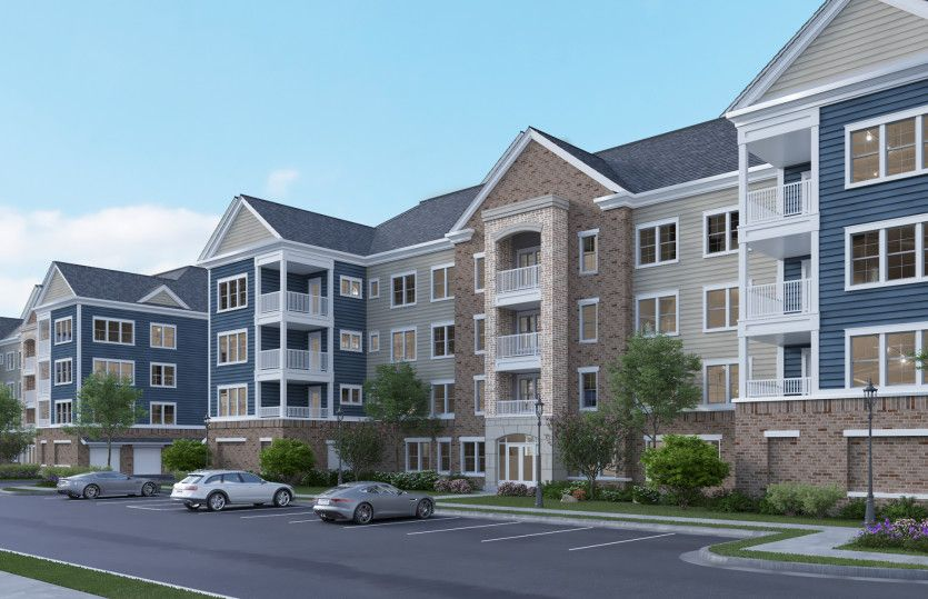 3.2.1E:Coming to Loudoun County: New elevator condos for sale in the gated, Del Webb community of Montebell
