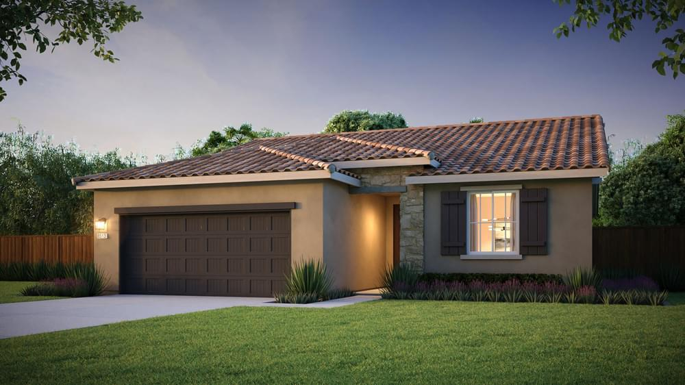 Exterior:Residence 2A | Tuscan Elevation