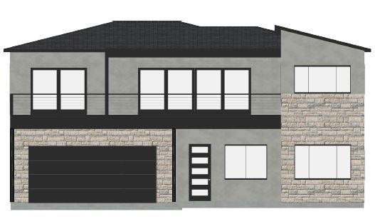 Sweetwater Front:Front Elevation
