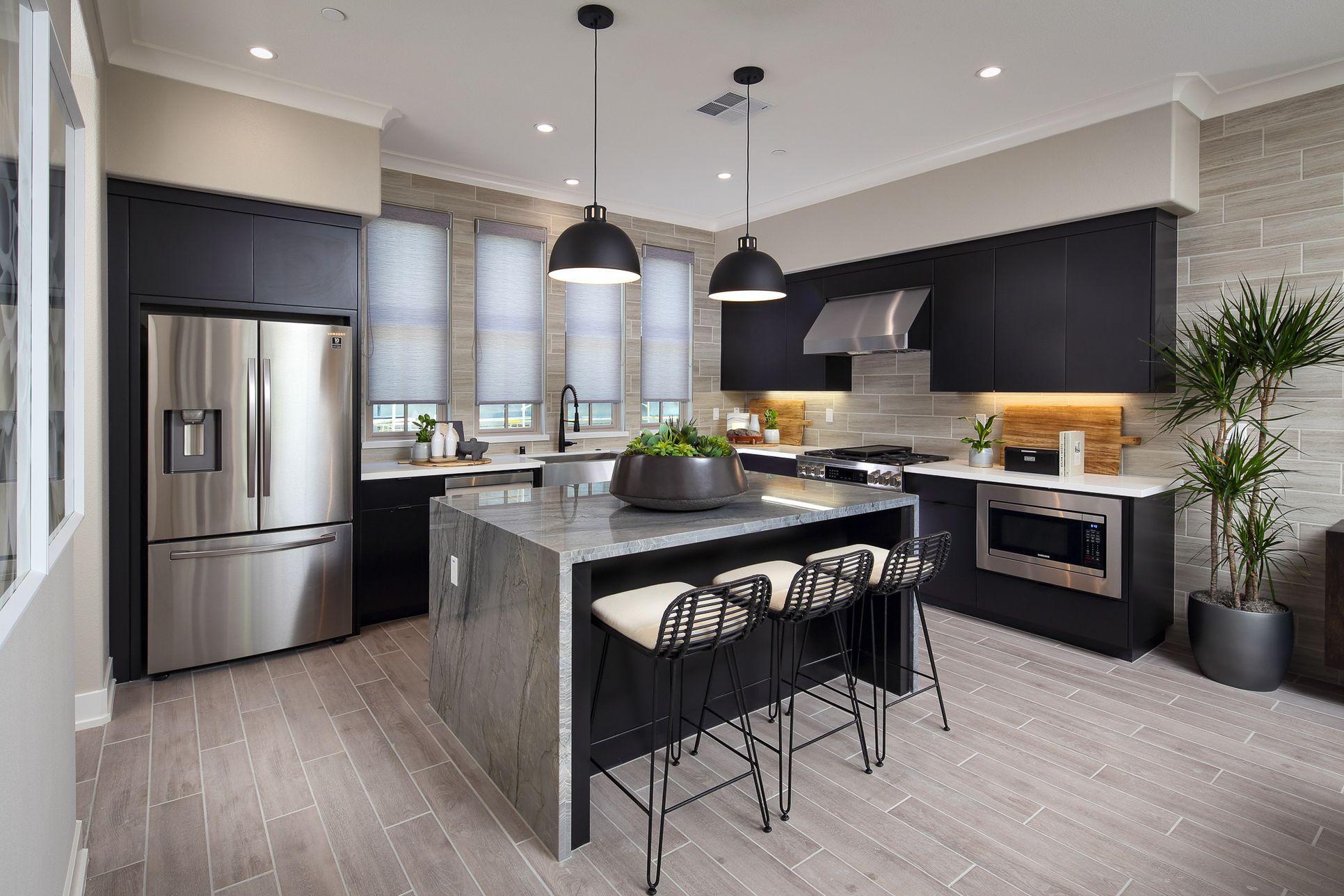 Plan 2 Kitchen:Gourmet Appliances
