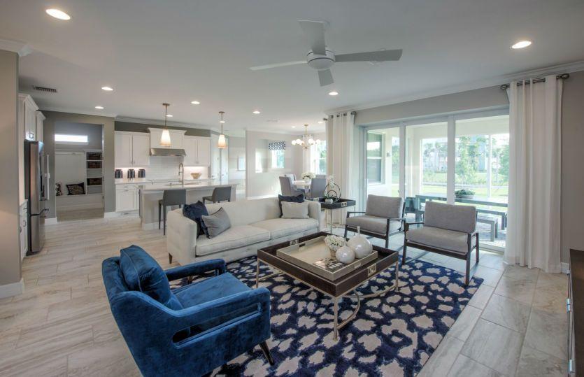 Riverwalk:Model Rep- Open Living Area