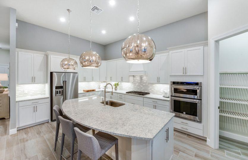 Stonewater:Kitchen with Large Island