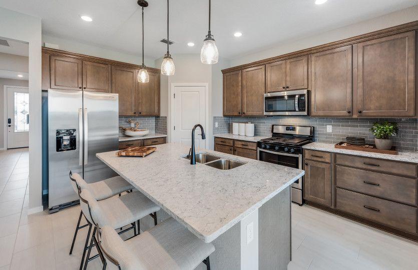 Cedar:Designer Kitchen