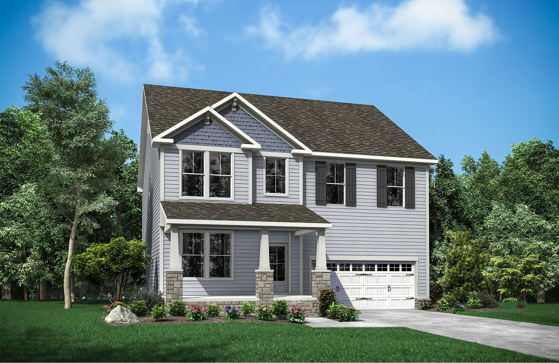 Trawick A:Trawick A with front porch