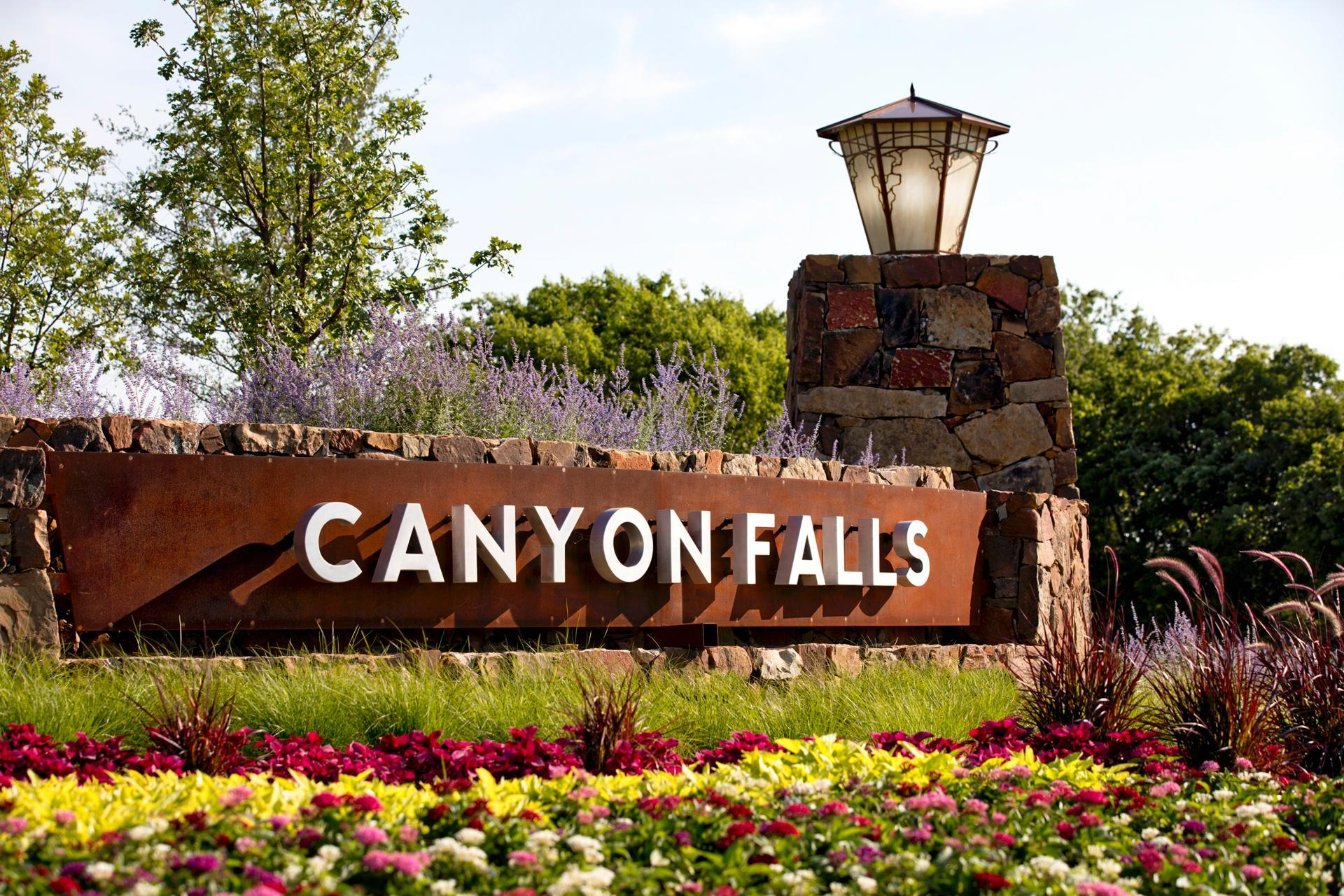 The Canyon Falls Entrance
