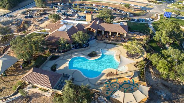 The Travisso Pool and Clubhouse