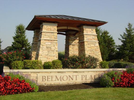 The Belmont Place Entrance